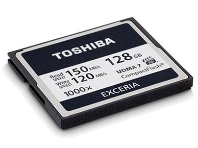 Toshiba sort une carte Compact Flash très rapide (1000x) à destination des professionnels