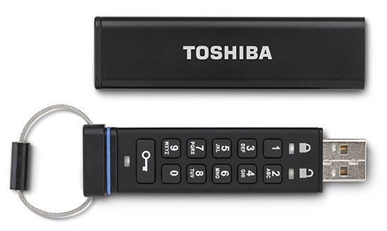 Toshiba dévoile une clé usb ultra sécurisée pour les entreprises