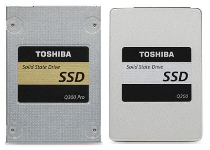 Toshiba lance deux nouveaux SSD : le Q300 et le Q300 Pro