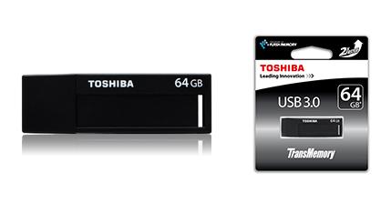 TransMemory Black : une clé USB 3.0 d'entrée de gamme signée Toshiba [Maj : les prix]