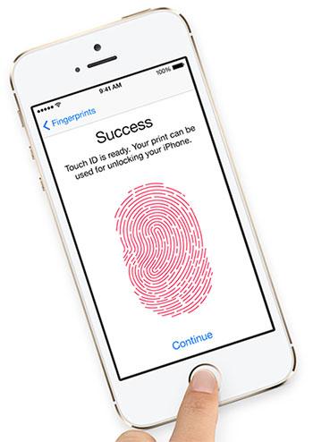 iPhone 5S : le lecteur d'empreintes digitales Touch ID déjà hacké !
