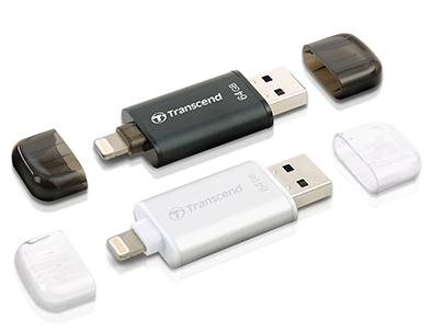 JetDrive Go 300 : une clé usb / Lightning pour PC et terminaux Apple