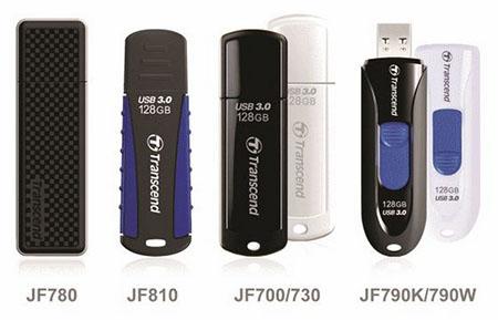 Transcend offre à plusieurs de ses clés USB 3.0 des versions 128 Go et 256 Go