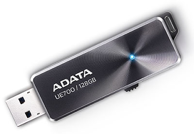 ADATA sort une version 128 Go de sa clé DashDrive Elite UE700