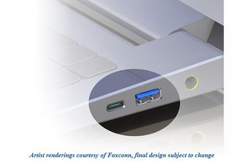 Voilà les premières images du connecteur USB 3.1 de type C