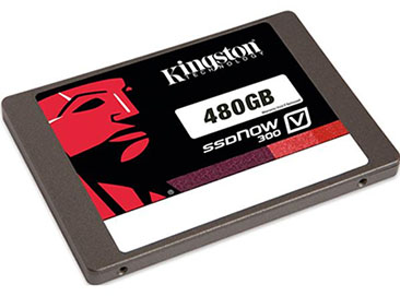 Soldes : 144€ le SSD Kingston V300 de 480 Go