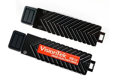 Un produit hybride clé usb – SSD qui carbure à 455 Mo/s !