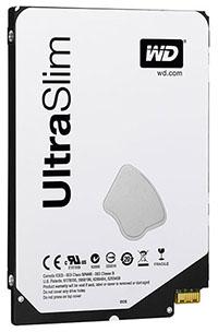 Western Digital sort un disque dur de 500 Go de 5 mm d'épaisseur