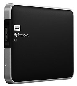 Western Digital sort le disque dur MyPassport Air