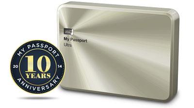 Western Digital propose son disque dur My Passport Ultra en édition limitée (maj: dispo en France)