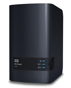 Western Digital sort un nouveau NAS 2 baies : le My Cloud EX2