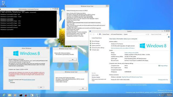 La Build 9385 de Windows 8.1 circule sur le net…