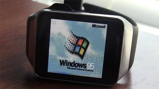 Insolite : il installe Windows 95 sur une montre connectée