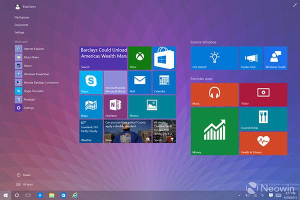 La build 10074 de Windows 10 est proposée en téléchargement