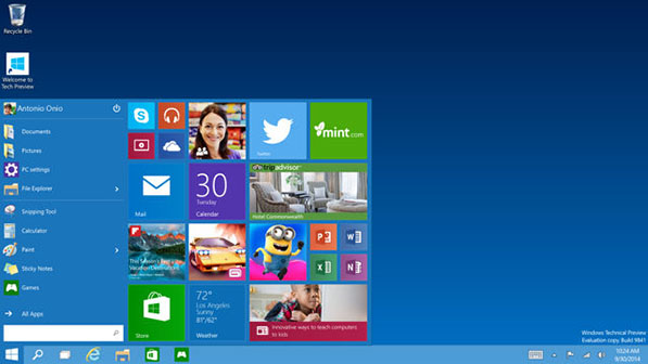 Windows 10 disponible en juillet ?
