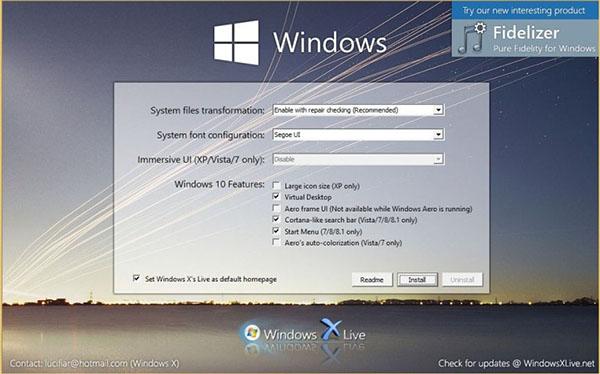 Comment offrir l'apparence de Windows 10 à votre ancienne