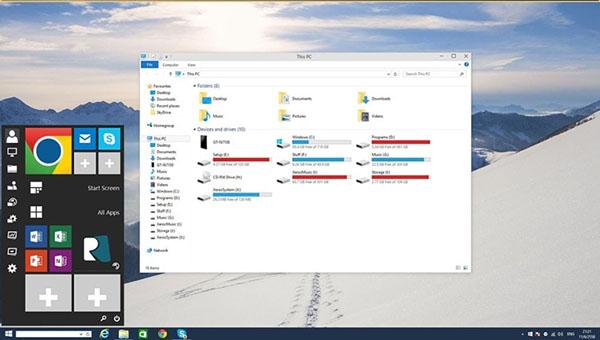 Comment offrir l'apparence de Windows 10 à votre ancienne version de Windows (XP, Vista, 7, 8, 8.1) ?