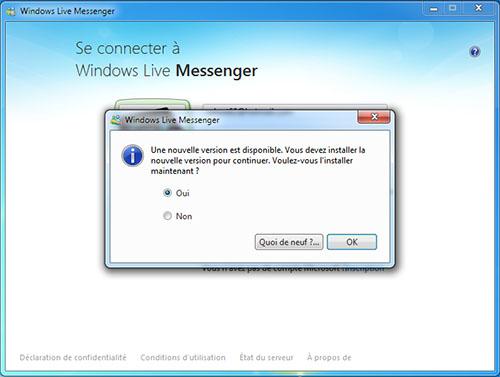 Un hack permet de réactiver Windows Live Messenger
