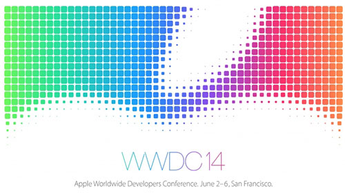 La conférence WWDC se déroulera du 2 au 6 juin 2014