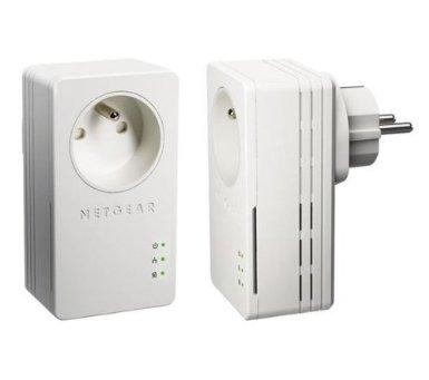 Soldes : 24,90 euros le kit de 2 adaptateurs CPL NETGEAR 200 Mbps
