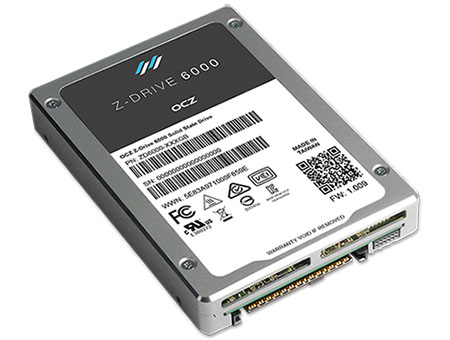 OCZ sort la gamme de SSD Z-Drive 6000 compatible PCIe et NVMe