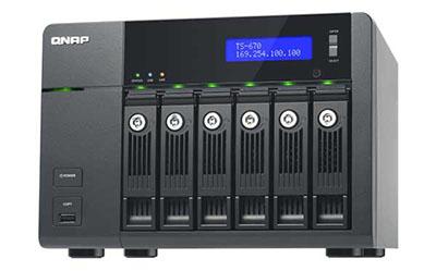 Zebulon.fr passe en revue un NAS 6 baies : le QNAP TS-670