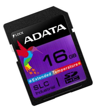 ADATA ISDD361 : une carte SDHC résistante pour l'industrie