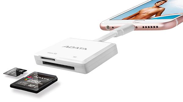 ADATA augmente la capacité de stockage des iPhone et iPad