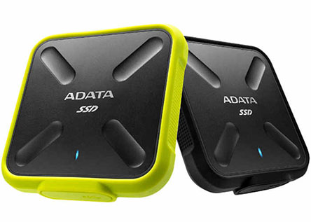 ADATA SD700 : un SSD externe de 1 To résistant contre les chocs