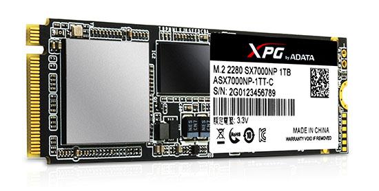 ADATA SX7000 : un SSD M.2. performant en TLC 3D
