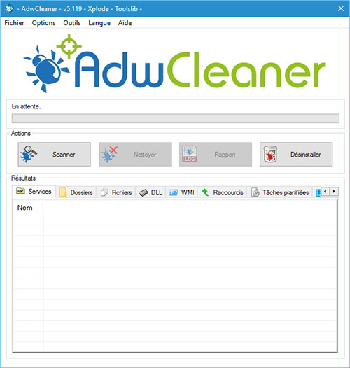 Le programme anti-malware AdwCleaner est disponible en version 5.119