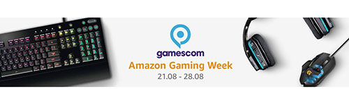 Bons Plans : la Gaming Week du site Amazon.fr