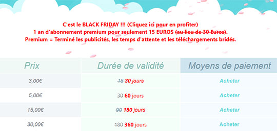 Black Friday : un an de compte Premium UpToBox pour 15 euros