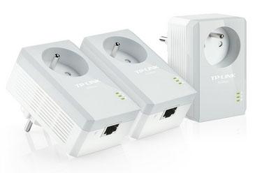 Vente flash : moins de 40€ le pack de 3 CPL 500 Mbps TP-Link