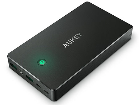 Vente flash : 19,99 euros la powerbank Aukey de 20.000 mAh