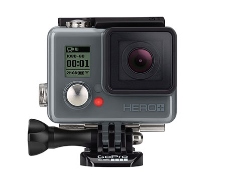 Vente flash : la caméra GoPro HERO+ LCD à 169 euros
