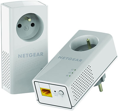 Vente flash : 51,99 euros le pack de 2 CPL Netgear à 1200 Mbps