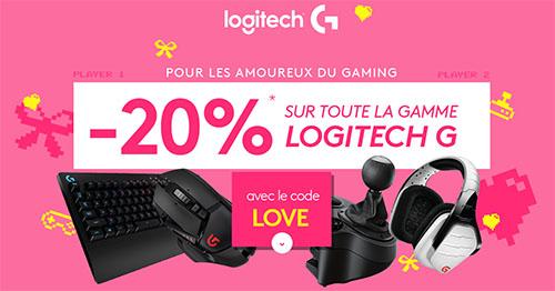 Bon Plan : LDLC offre 20% de remise sur les produits gaming de Logitech
