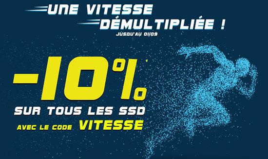 Bon Plan : 10% de réduction sur tous les SSD vendus chez LDLC !