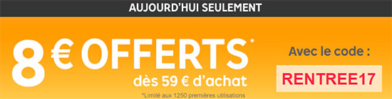 Bon Plan : 8 euros de réduction sur le site Priceminister