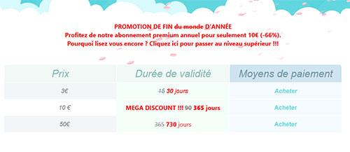Bons Plans : 10 euros l'abonnement Premium UpToBox d'un an