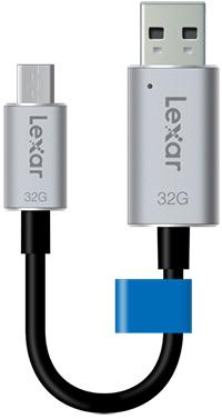 Lexar lance deux nouvelles clés USB 3.1 : les JumpDrive C20c et C20m