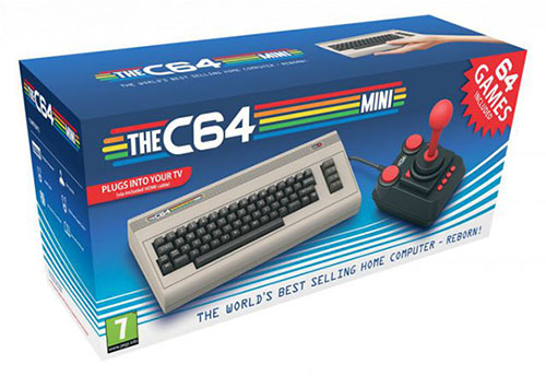 C64 Mini : le retour du Commodore 64 en version miniature le 29 mars 2018
