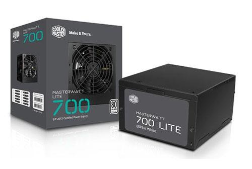 CoolerMaster dévoile les alimentations MasterWatt Lite