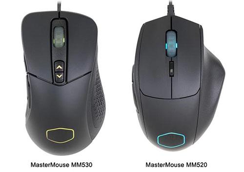 Deux nouvelles souris gaming chez CoolerMaster : les MM530 et MM520