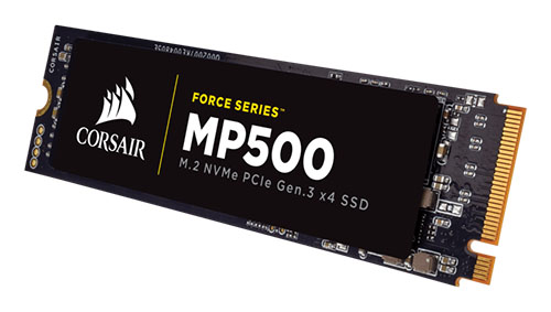 Un SSD M.2. PCI-E NVMe chez Corsair : le Force MP500