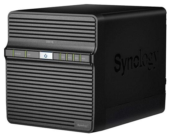 Synology lance un nouveau NAS 4 baies : le DS418j