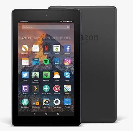 Amazon renouvèle ses tablettes et lance les Fire 7 et Fire HD 8