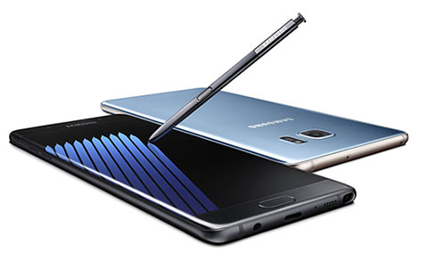 Le Galaxy Note 7 sera finalement disponible en Europe le 28 octobre