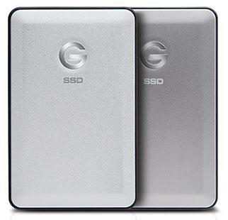 Des SSD en USB 3.1 type C chez G-Technology